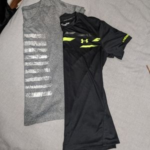 Set of workout tops